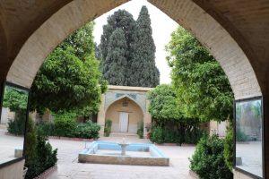 محیط حوزه علمیه منصوریه شیراز