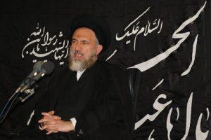 حجت الاسلام والمسلمین سید شرف الدین ملک حسینی