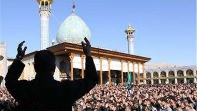 برنامه های اربعین در شیراز
