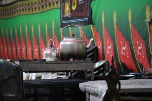 برپایی موکب بین الحرمین شیراز