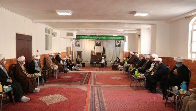جلسه جامعه روحانیت