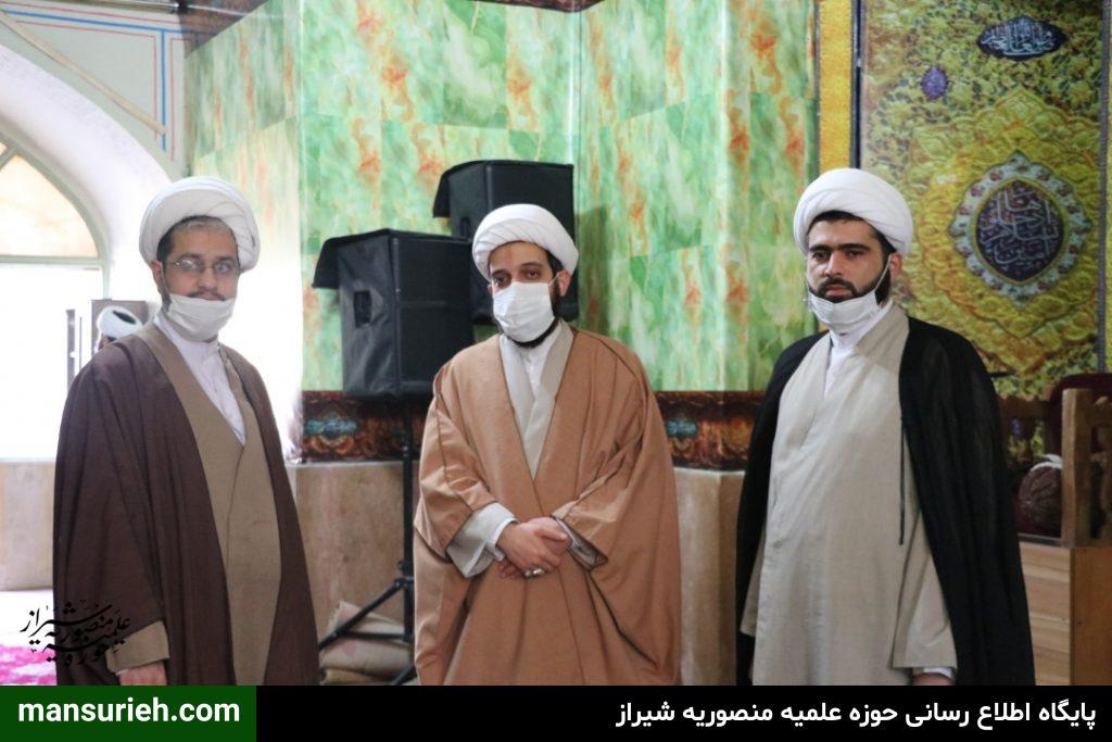 بازدید مدیر ارزیابی،نظارت وآمار از دفتر برنامه ریزی ونظارت حوزه علمیه کشور از مدرسه منصوریه
