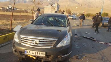 تصاویر محل ترور محسن فخریزاده، دانشمند هستهای