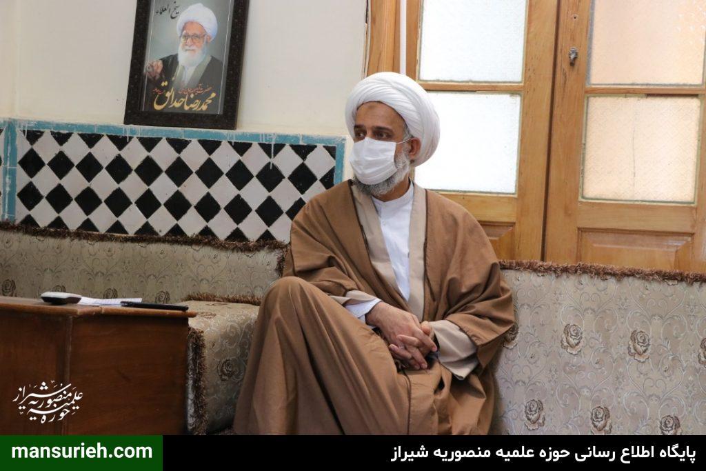 نشست خبری حضرت حضرت استاد حاج شیخ علیرضا حدائق با اصحاب رسانه