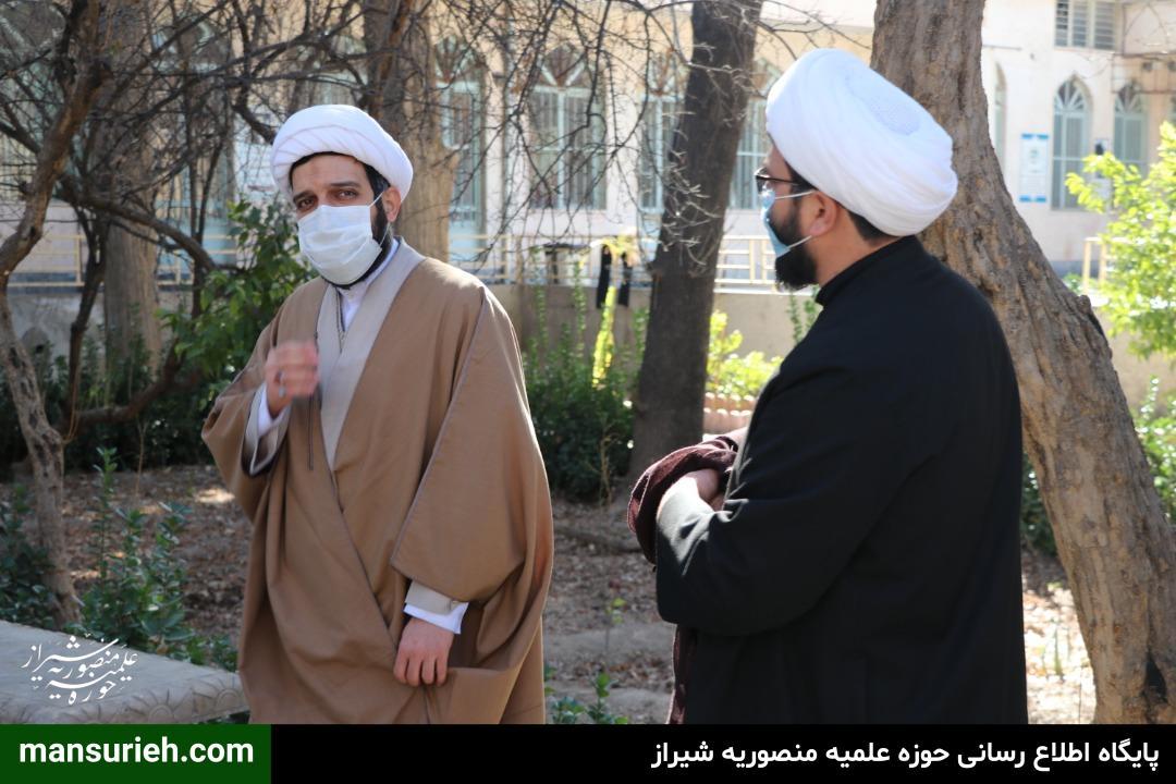 بازدید حوزه علمیه غدیریه از حوزه علمیه منصوریه