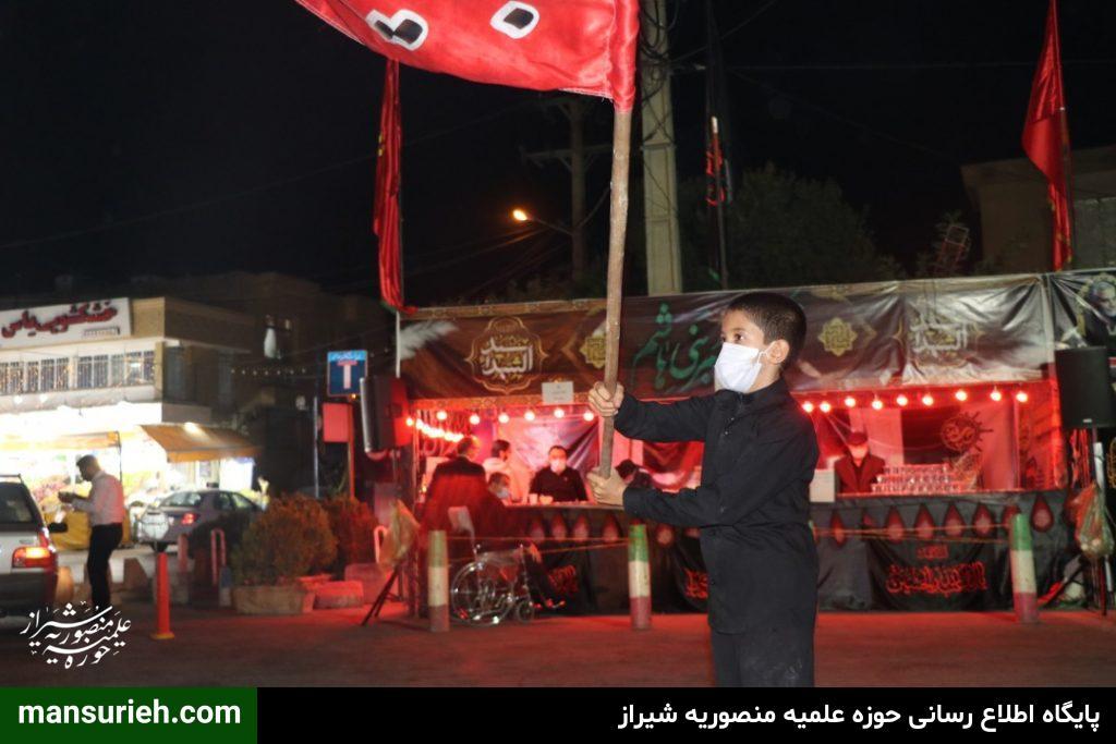 توسط بانی 12 ساله؛ مجلس روضه خانگی حضرت زهرا(س) در شیراز برگزار شد