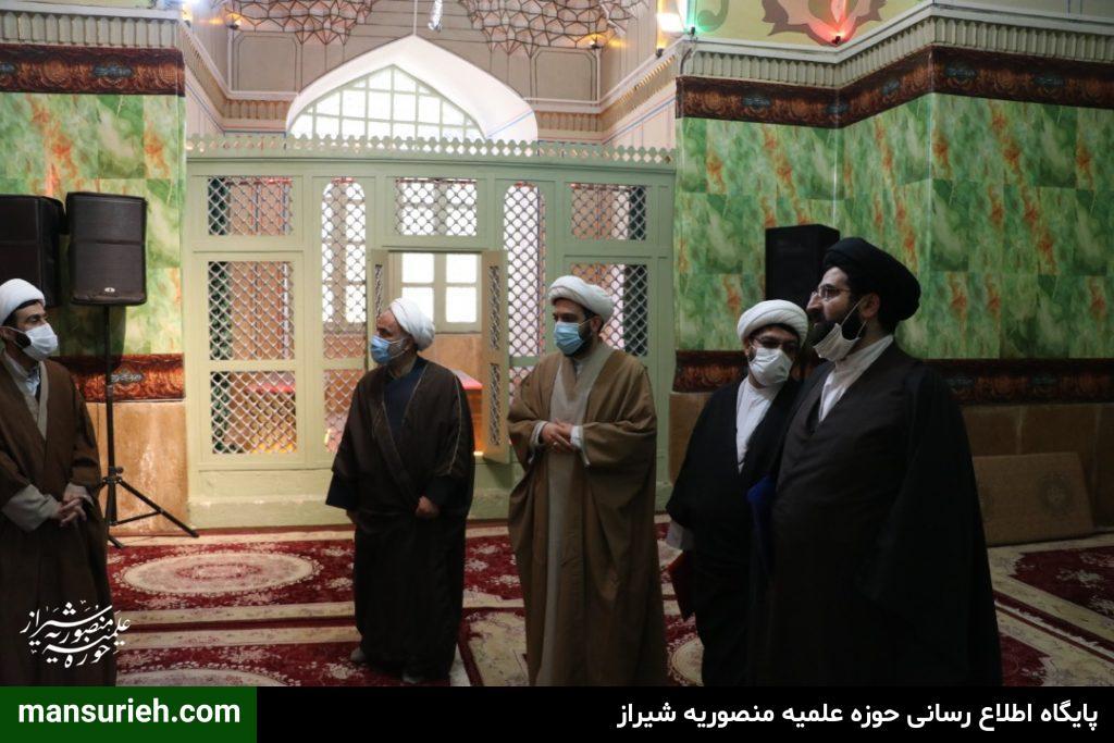 دیدار حجت الاسلام والمسلمین حدائق با مسئول امور طلاب و دانش آموختگان کشور