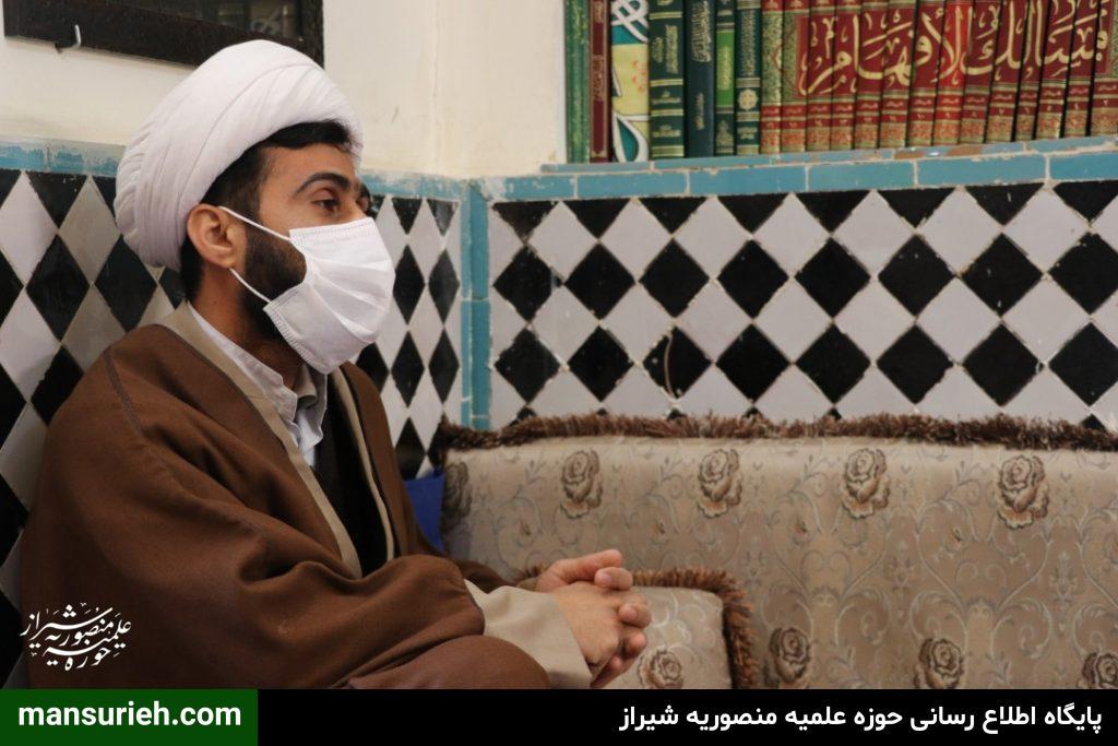 حسین رضایی معاونت تبلیغ منصوریه