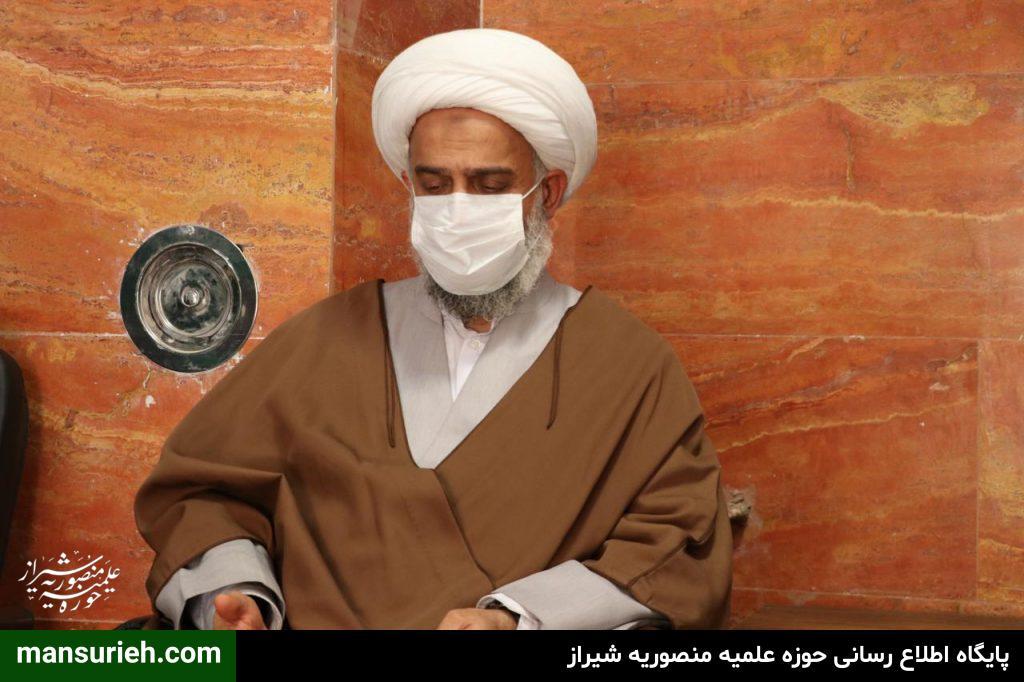 نشست مسئول حوزه علمیه منصوریه با جمعی از مبلغین گروه تبلیغی «امیرالمومنین (ع)» قم
