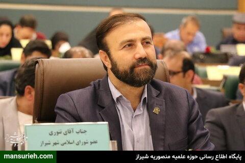 احمد تنوری، عضو شورای شهر و نماینده شورا در بافت تاریخی