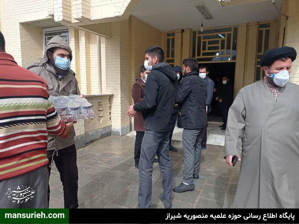 فعالیت های طلاب جهادی قرارگاه عمار حوزه علمیه منصوریه در یاسوج سی سخت