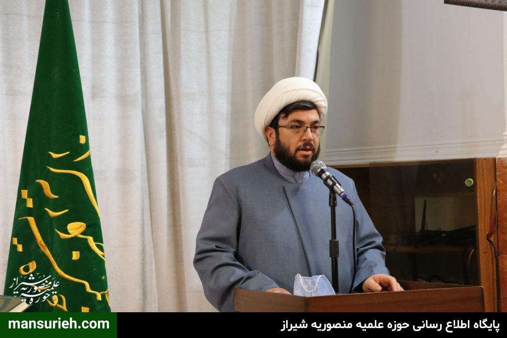 حجت الاسلام احمدی معاونت تهذیب منصوریه