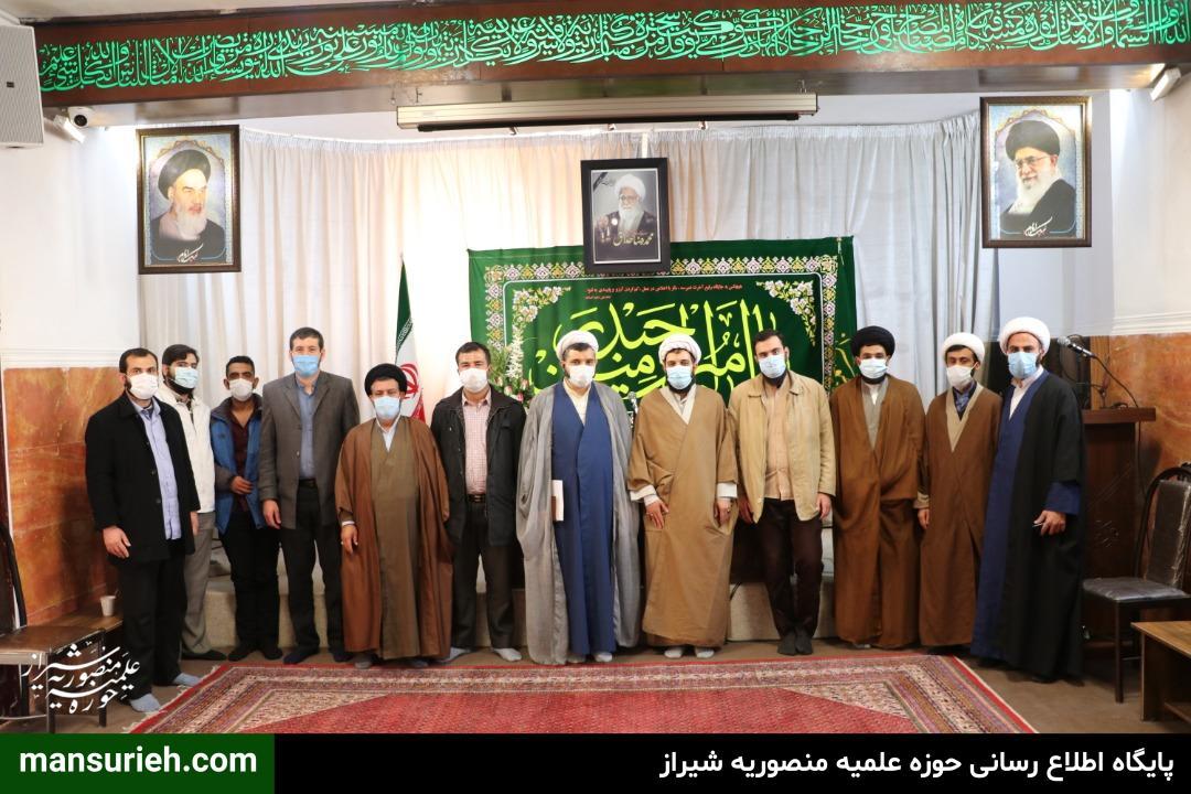 تصاویر| دیدار دفتر حضرت آیت الله العظمی مکارم شیرازی در شیراز با مبلغین و مسئول قرارگاه عمار