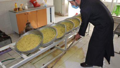 طبخ و توزیع 313 پرس غذا گرم به مناسبت نیمه شعبان از سوی قرارگاه عمار