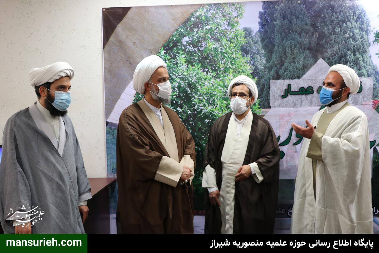تصاویر  افتتاح دفتر رسمی قرارگاه عمار در شیراز