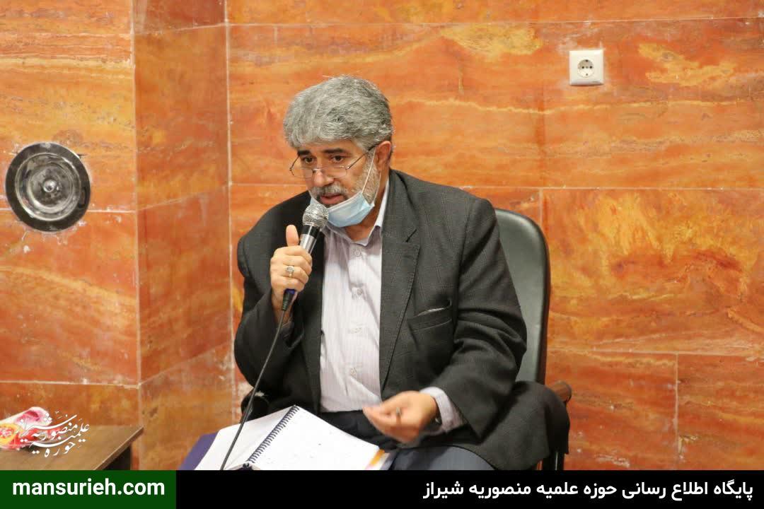 دیدار شورای شهر شیراز با حوزه علمیه منصوریه و حضرت استاد حدائق